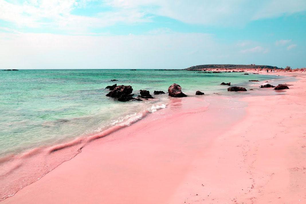 coloured beaches
