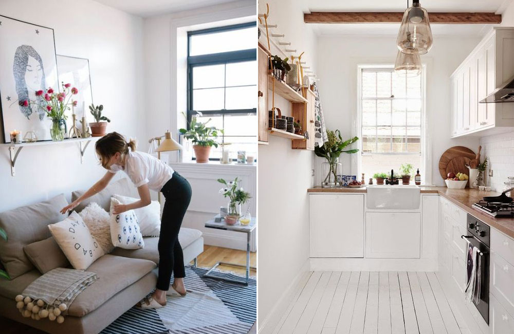 6 Easy Ways to Maximise a Small Living Space