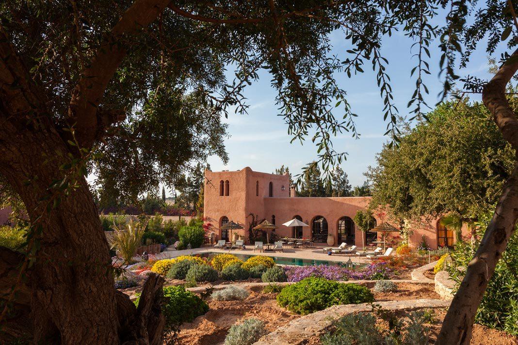 A Garden Paradise at Essaouira's Le Jardin des Douars, Morocco