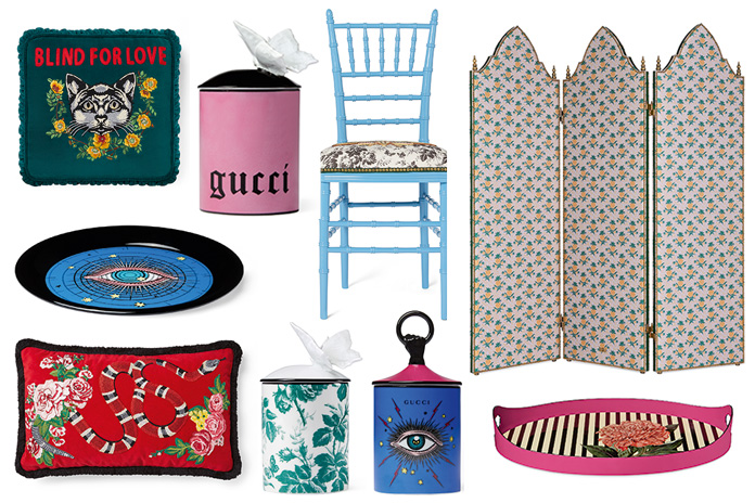 Fauna & Flora: Discover Gucci's first Interiors Collection