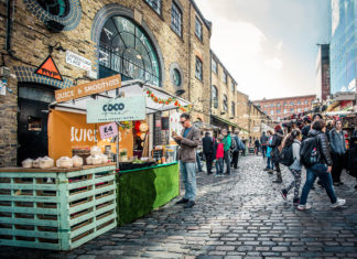 Foodie markets in London