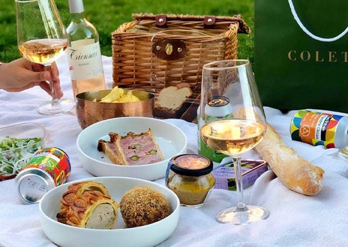 ready-made picnic basket