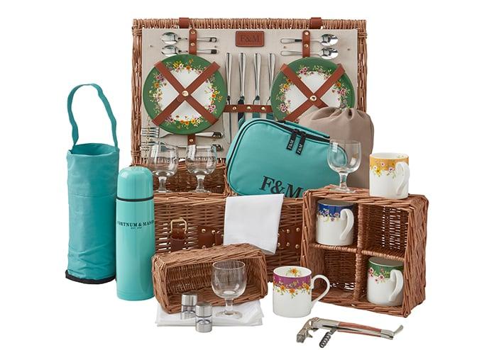 ready-made picnic hamper by Fortnum & Mason