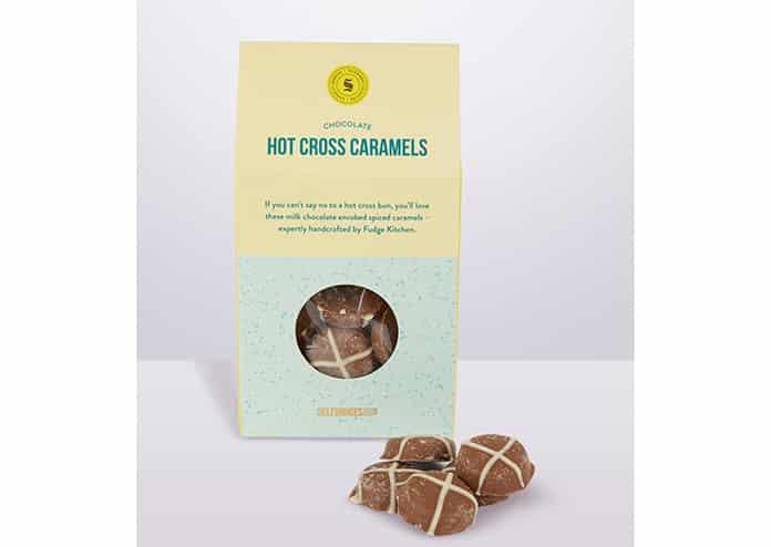 Hot Cross Caramels Best Easter Eggs