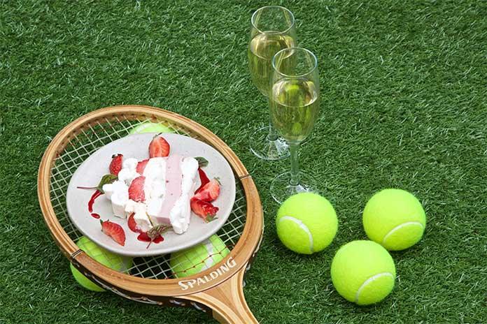 Wimbledon serves