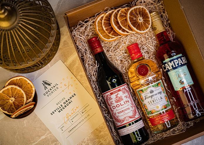 Cocktail Porter Negroni Kit