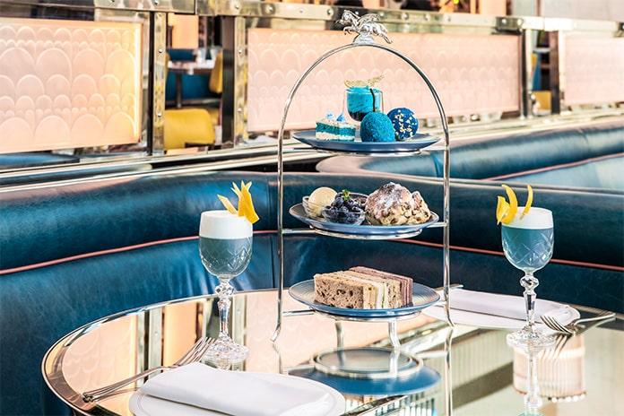 Brasserie of Light afternoon tea