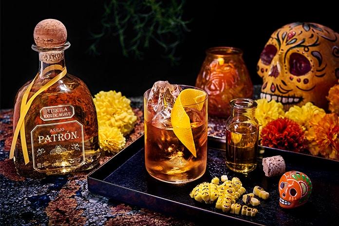 Patron Tequila Dia de Muertos