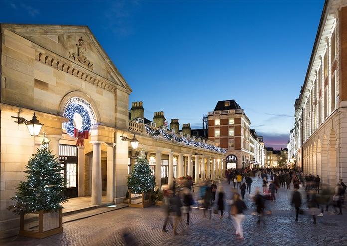 Covent Garden christmas lights 2020