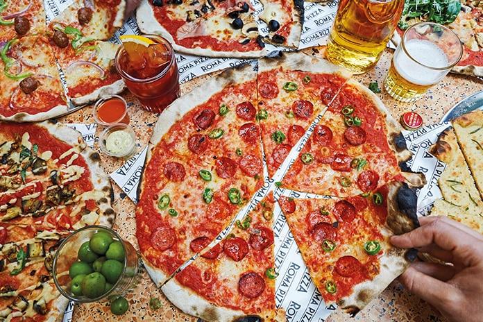 Roma Pizza Brick Lane