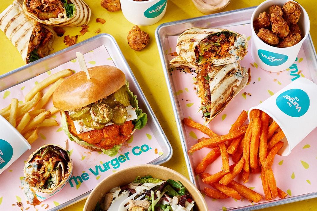 Vegan junk food in London