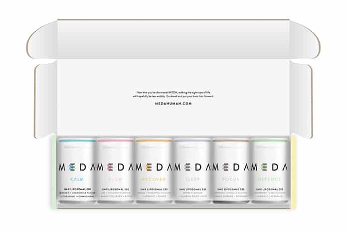 MEDA CBD drinks