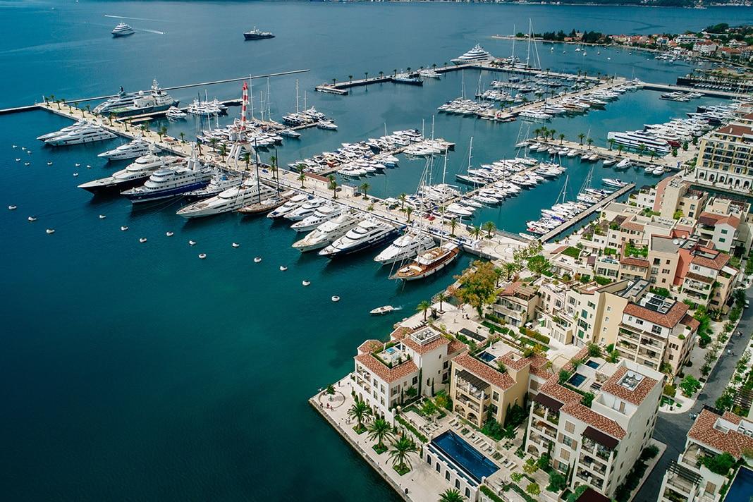 Sailing Adriatic Coast Porto Montenegro