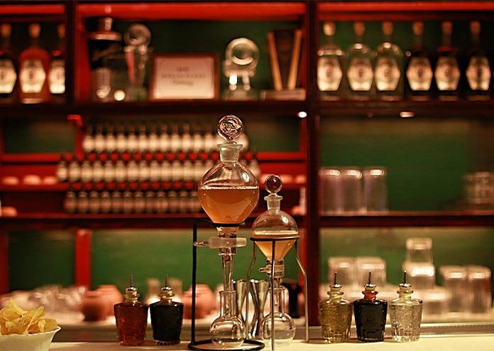 Dr Stravinsky pop-up London cocktail bar