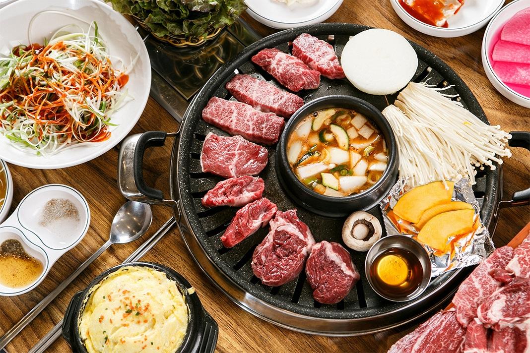 Best korean BBQ London