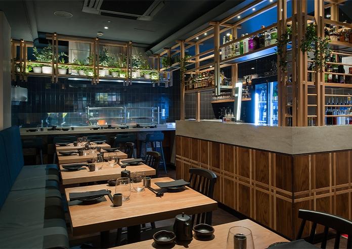 Robata restaurant Interiors