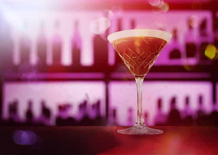 Cocktail Time Machine Timeless Bar pop-up cocktail bar