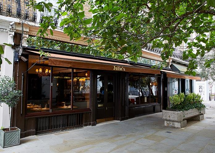 Julie's Notting Hill Sunday roast