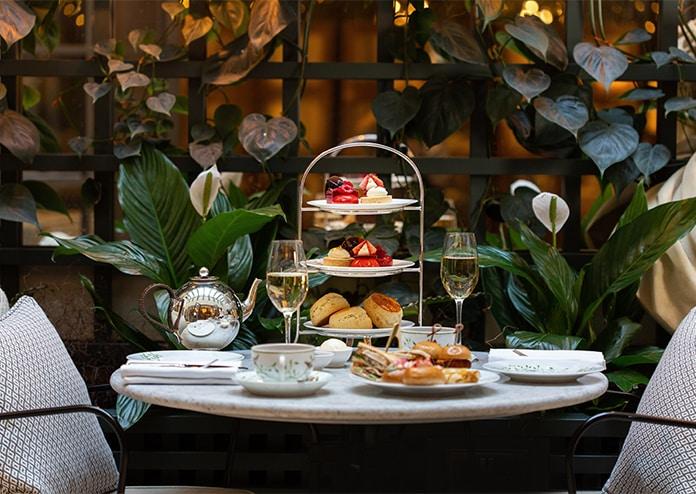 Kimpton Fitzroy Hotel afternoon tea