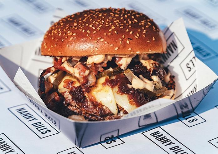 Nanny Bills burger delivery London