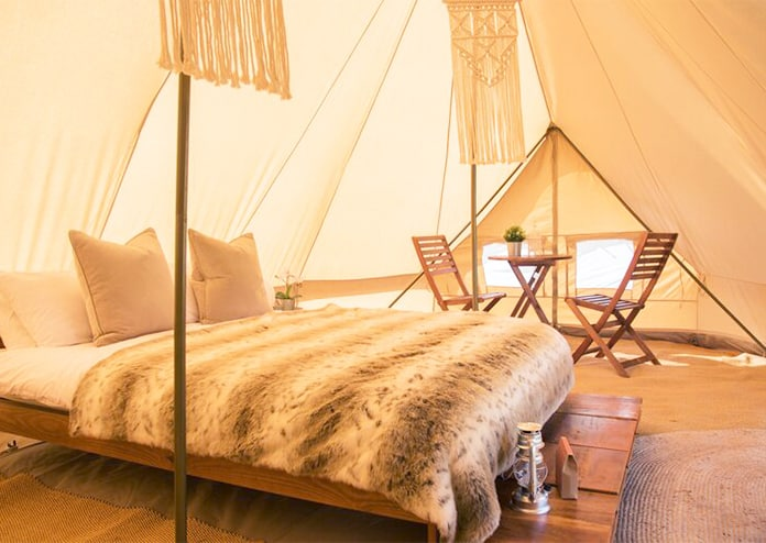 Cloud 9 Glamping, UK staycation ideas