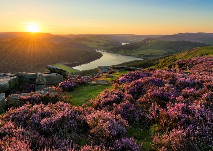 Peak District wellness retreat