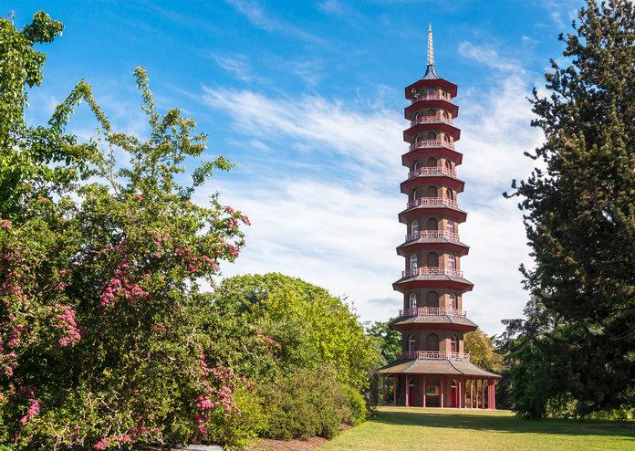 Kew gardens pagoda London's best picnic spots