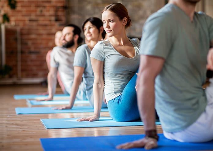 Yoga wellness retreat