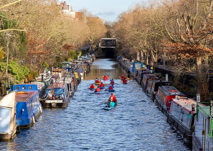 Kayaking - Outdoor activities to do in London