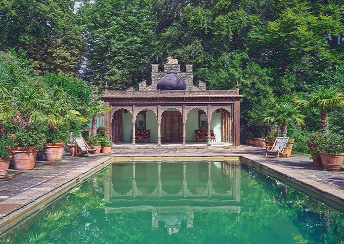 Outdoor Pool at House of Hackney