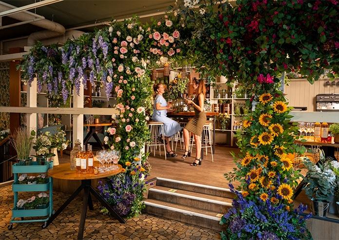 Rose Retreat - The Folly London pop-ups summer 2020