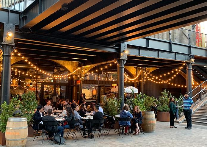 Vermuteria Kings Cross outdoor dining