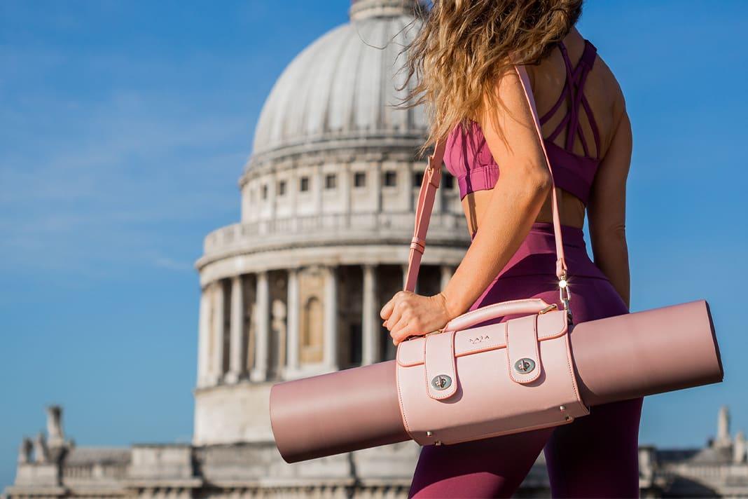 Saia London yoga mat bag