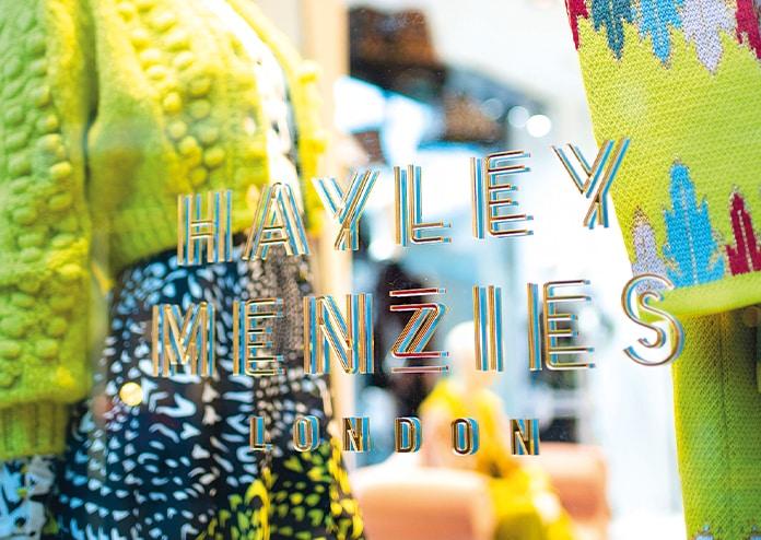Hayley Menzies pop-up shop Kings Road