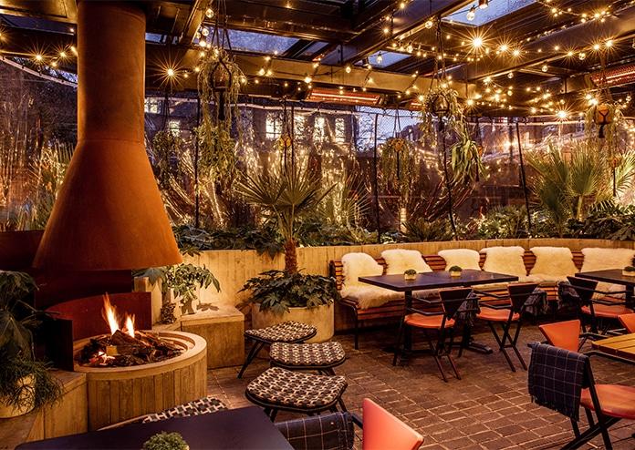 The Standard outdoor terrace