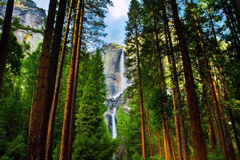 Yosemite - best US states to visit