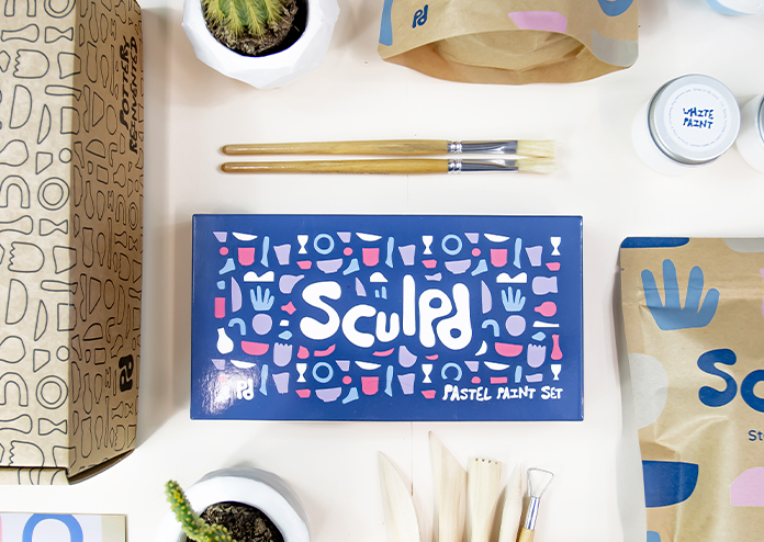 Sculpd pottery kit - Best activities to do at home