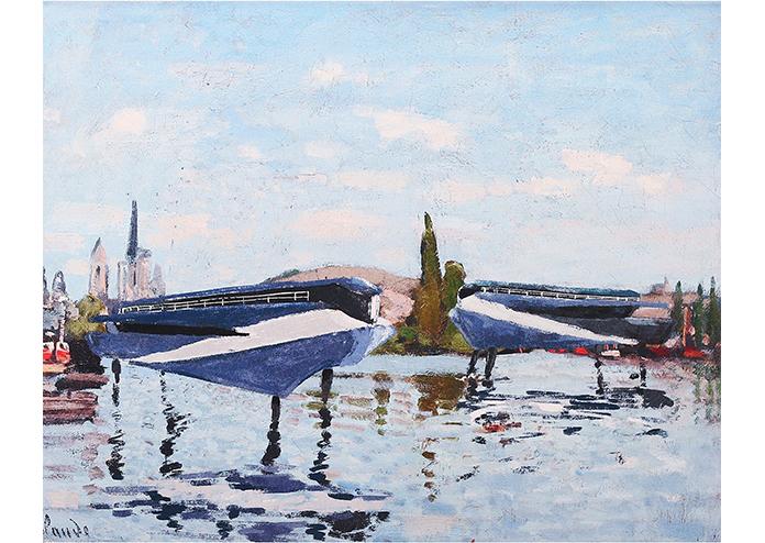 Monet Reimagined - Future Seascapes