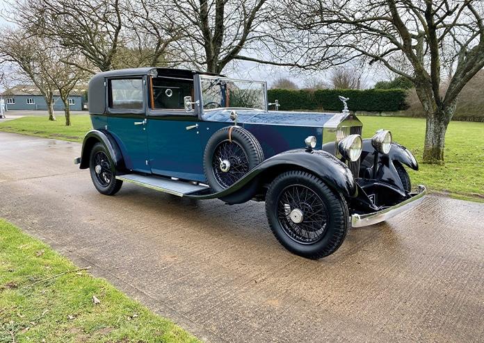 Rolls Royce H P Sedanca De Ville