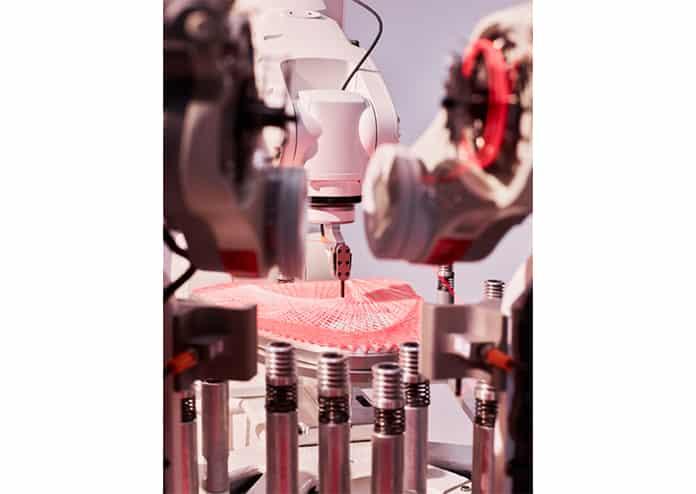 Adidas Future Craft Strung Shoe Making Robot