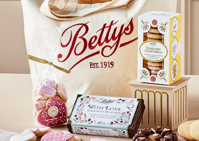 Bettys Food gifts for Mother's Day