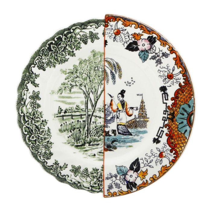 SELETTI Hybrid Ipazia Dinner Plate, £57