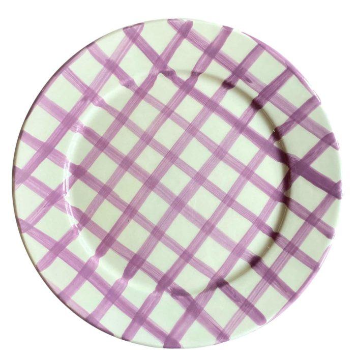 Vaisselle Sweet Me Gingham Dessert Plate, £